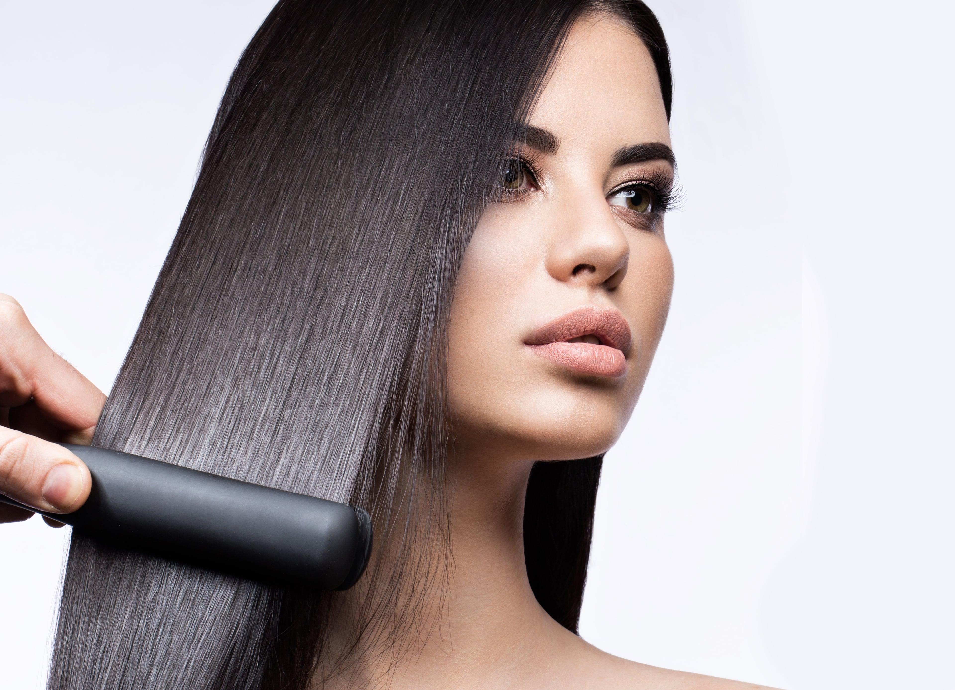 Кератиновое выпрямление волос для здоровья и красоты