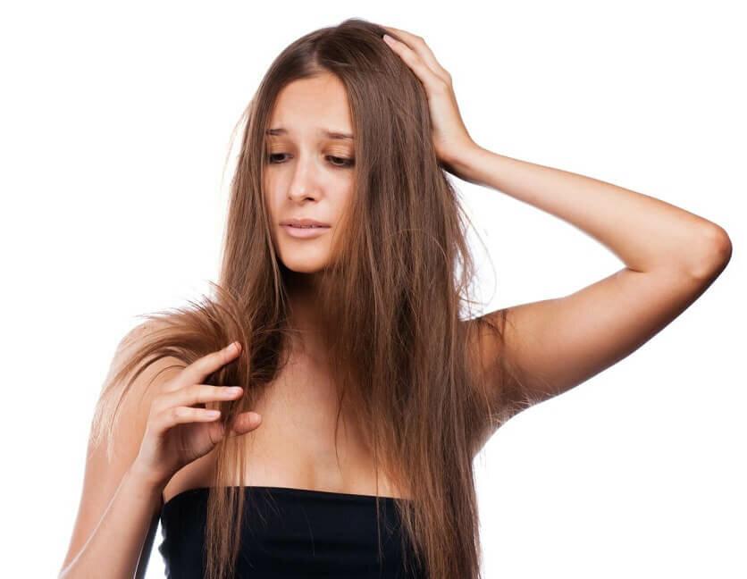 Секущиеся кончики волос можно быстро восстановить!