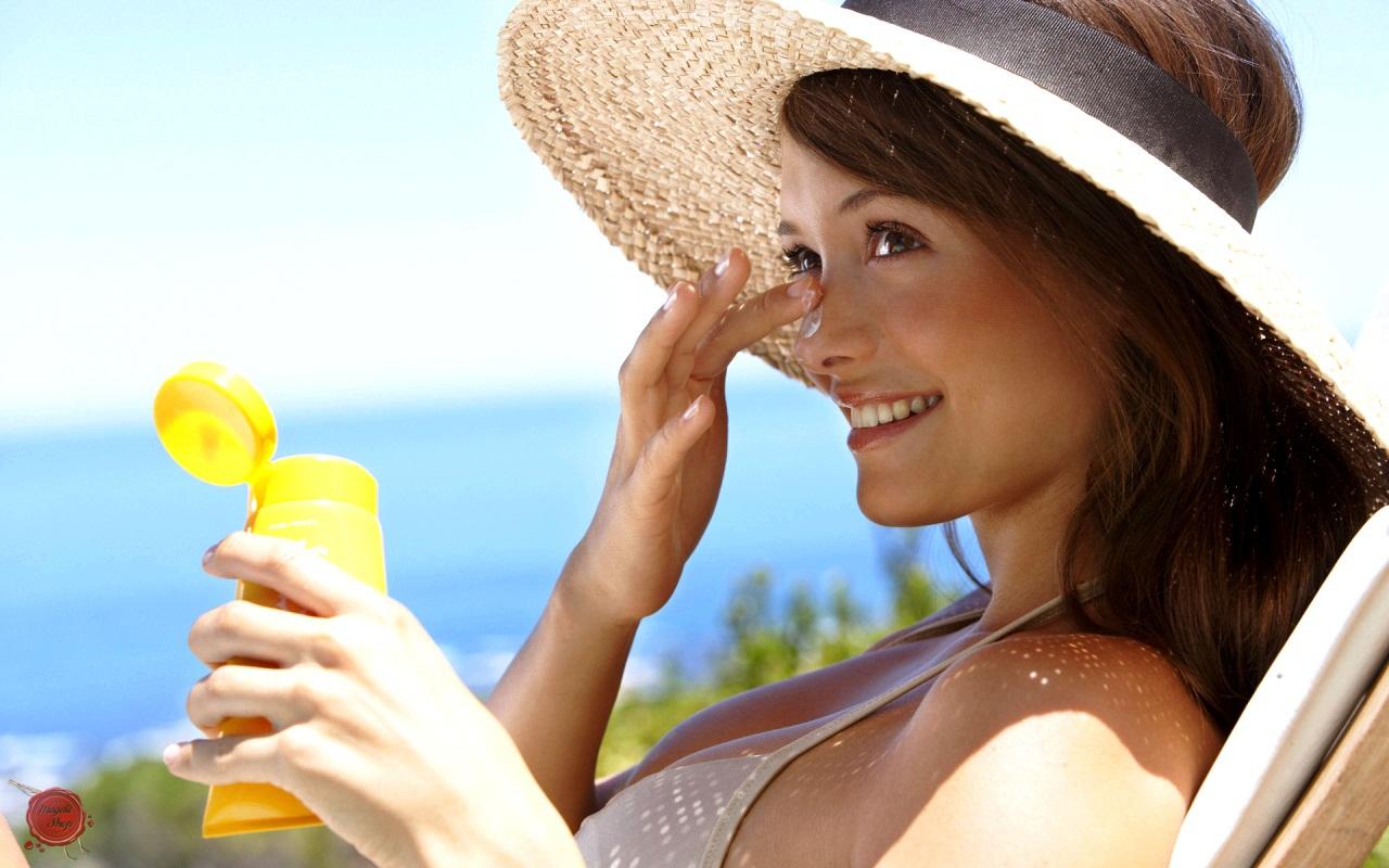 Защита для волос от солнца, влаги и ветра